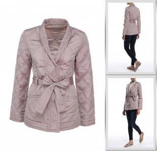 Розовые куртки, куртка утепленная odri, весна-лето 2015