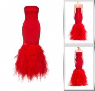 Красные платья, платье masha goryacheva,