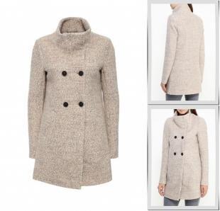 Бежевые пальто, пальто only, осень-зима 2016/2017