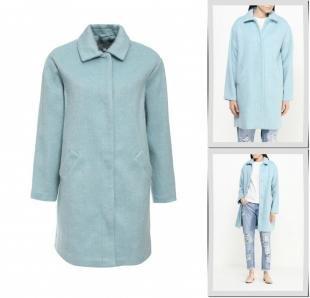 Голубые пальто, пальто lost ink, весна-лето 2016