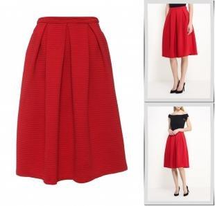 Красные юбки, юбка ad lib, весна-лето 2016