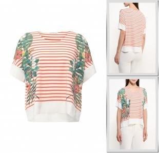Разноцветные футболки, футболка zarina, весна-лето 2016