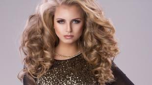 Макияж для русых волос и серых глаз, праздничный макияж для серых глаз