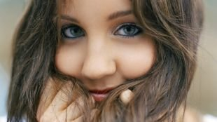 Быстрый макияж, макияж для серых глаз с перламутровыми тенями
