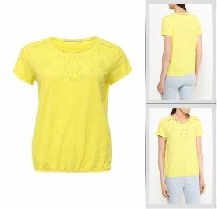 Желтые футболки, футболка vis-a-vis, весна-лето 2016