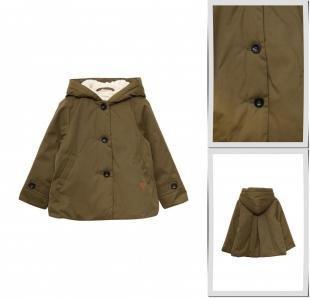 Хаки куртки, куртка утепленная mango kids, осень-зима 2016/2017