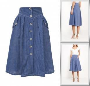 Синие юбки, юбка gregory, осень-зима 2016/2017