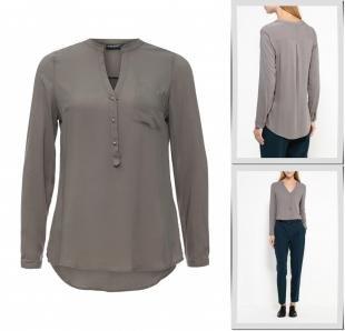 Хаки блузки, блуза broadway, осень-зима 2016/2017