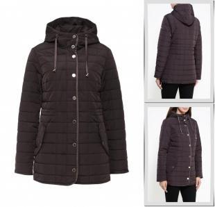 Коричневые куртки, куртка утепленная baon, осень-зима 2016/2017