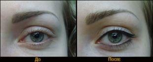 Татуаж глаз, перманентный макияж век - стрелки