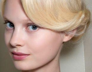 Макияж для блондинок с голубыми глазами, прозрачный макияж для юного лица