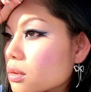 Макияж для бурятских глаз, макияж со стрелками для азиатских глаз