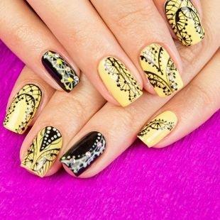 Кружевные рисунки на ногтях, дизайн ногтей с ажурными узорами