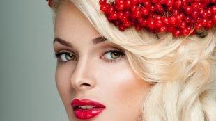 Летний макияж для зеленых глаз, макияж для зеленоглазых блондинок