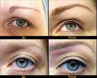 Татуаж глаз, перманентный макияж век