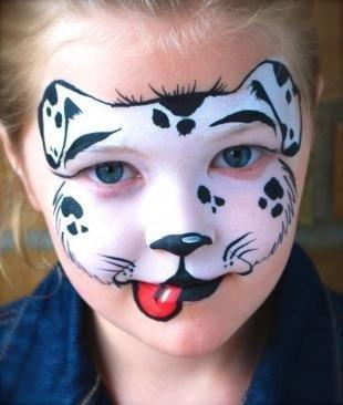 Карнавальный макияж, аквагрим для ребенка