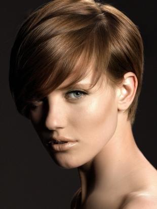 Цвет волос капучино, модный цвет волос для короткой стрижки