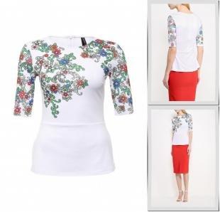 Разноцветные блузки, блуза concept club, весна-лето 2016