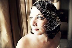 Свадебный макияж для шатенок, нюдовый свадебный макияж для карих глаз