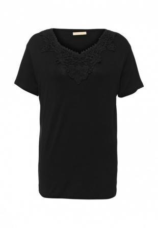 Черные футболки, футболка elisa immagine, весна-лето 2016