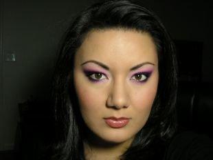 Макияж для каре-зелёных глаз, прекрасный макияж для нависшего века