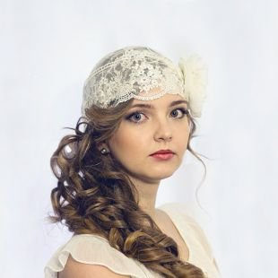 Свадебный макияж для круглого лица, свадебный макияж для зеленых глаз и русых волос