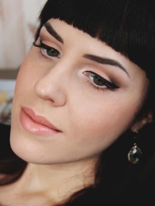 Макияж для брюнеток с серыми глазами, идеальный праздничный макияж