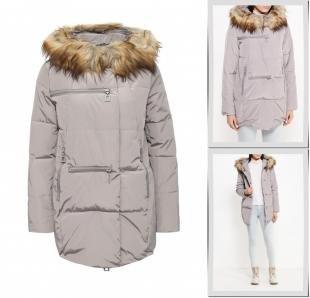 Серые куртки, куртка утепленная b.style, осень-зима 2016/2017