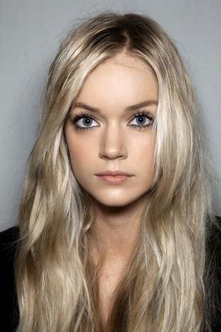 Цвет волос платиновый блондин на длинные волосы, мелирование на светлые волосы платиновыми прядями
