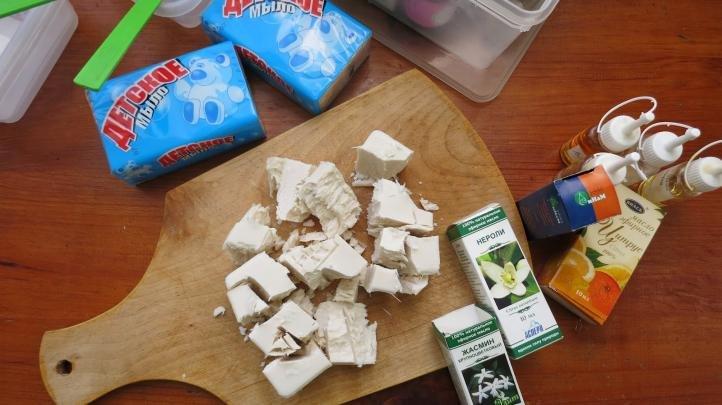 Рецепт домашнего дегтярного мыла