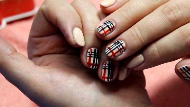 рисунки на ногтях лаком фото