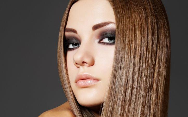 Макияж для серых глаз - брюнетки и шатенки